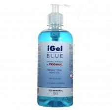 iGel Blue gel alcoolic pentru maini 500 ml