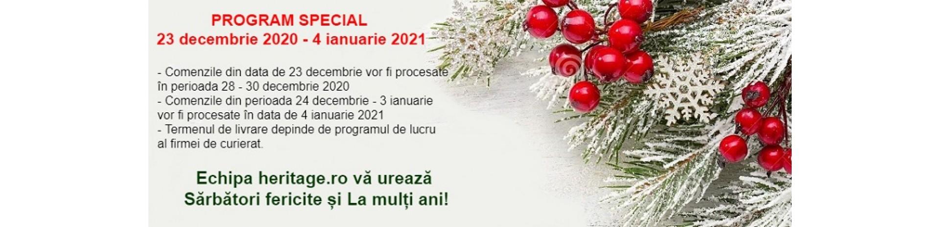 Program sarbatori iarna 2020